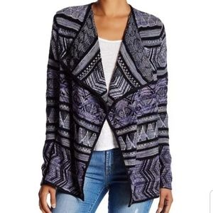 Lucky Brand The Lotus Draped Cardigan Sweater